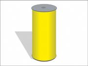 Желтые рулонные ловушки 15смх100м